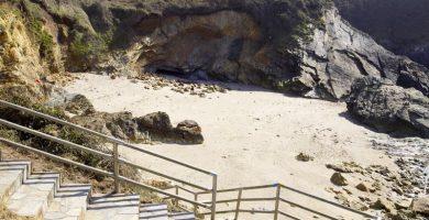 Playa Rocas Brancas en Ribadeo