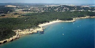 Playa Rocas Planas en Tarragona