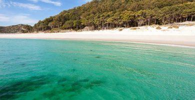 Playa Rodas en Vigo
