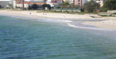 Playa Rodeira en Cangas
