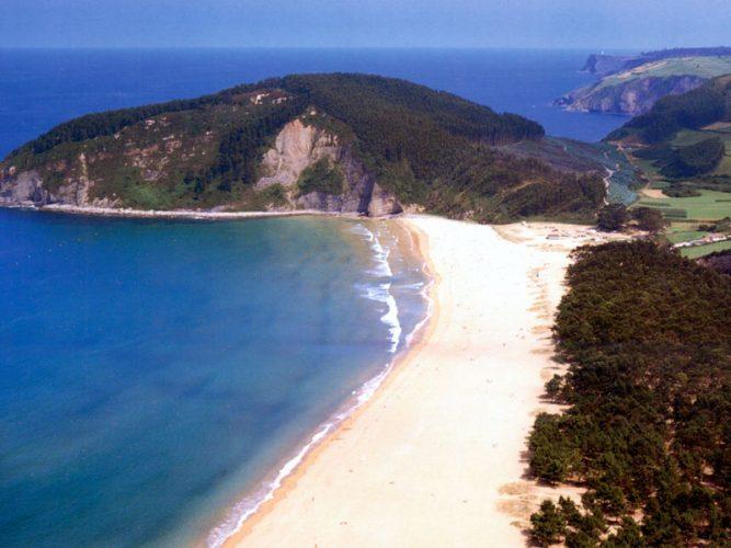 playa espana villaviciosa como llegar