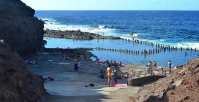 Playa Roque Prieto en Santa María de Guía de Gran Canaria