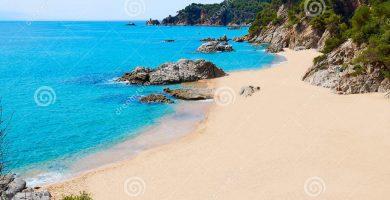Playa Sa Boadella en Lloret de Mar