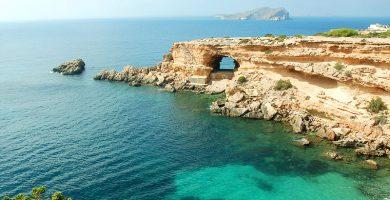 Playa Sa Figuera Borda en Sant Josep de sa Talaia