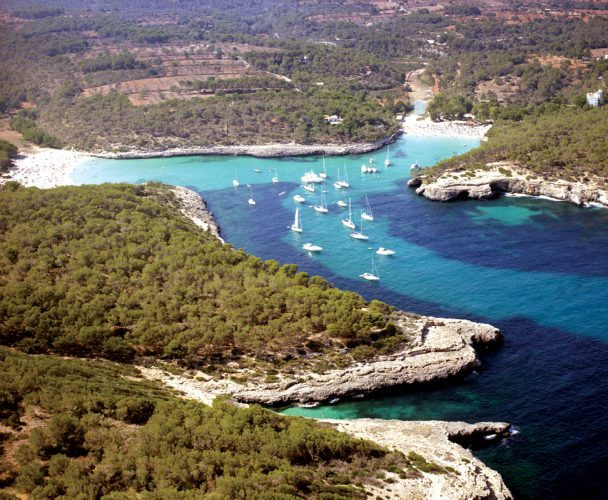 Playa Sa Font de N'Alis en Santanyí