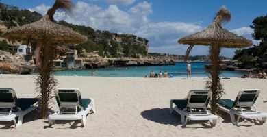 Playa Sa Font Figuera en Valldemossa