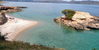 Playa Sa Marina d'Alcudia en Alcúdia