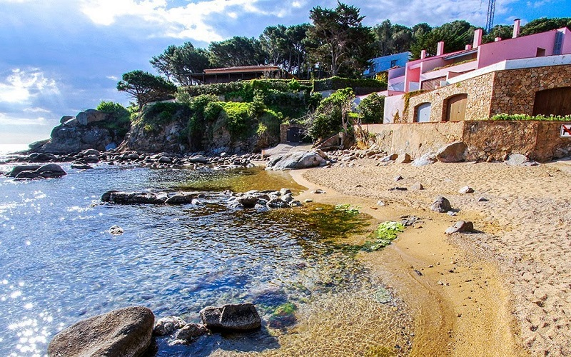 Playa Sa Tamardia en Palamós