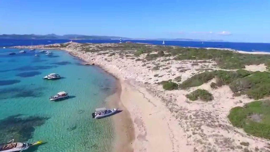 Playa Sa Torreta en Formentera