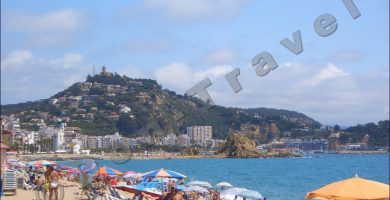 Playa S'Abanell en Blanes