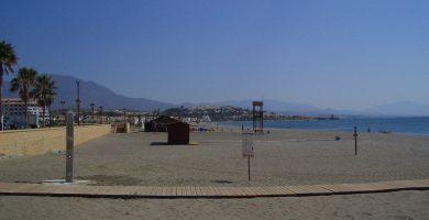 Playa Sabinillas en Manilva
