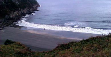 Playa Sabugo en Valdés