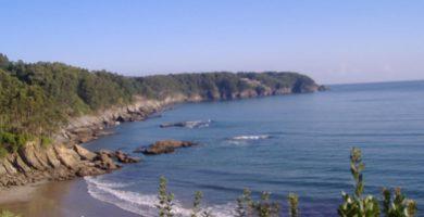 Playa Sacido en Viveiro
