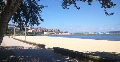 Playa Sada - A Nova en Sada