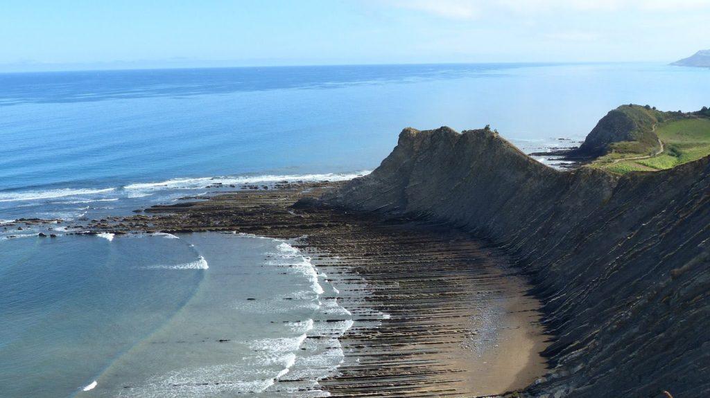Playa Sakoneta en Deba