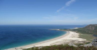 Playa Salgueiro en Muros