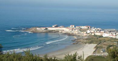Playa Salseira de Caracoleiro en A Laracha