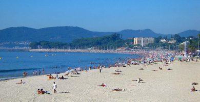 Playa Samil en Vigo