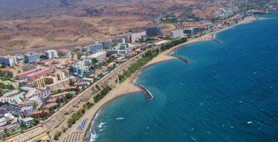 Playa San Agustín en San Bartolomé de Tirajana
