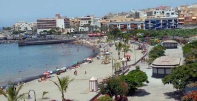 Playa San Juan en Guía de Isora