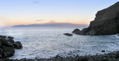 Playa San Marcos en Agulo