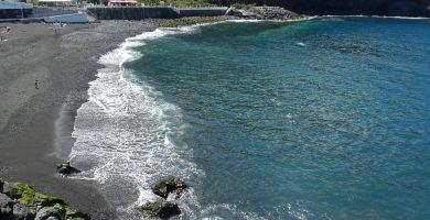 Playa San Marcos en Icod de los Vinos