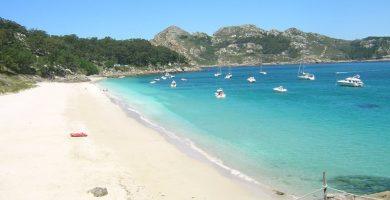 Playa San Martiño en Vigo