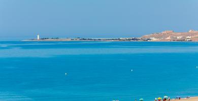 Playa San Miguel en El Ejido