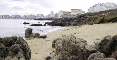 Playa San Roque en A Coruña