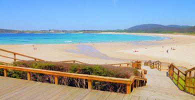 Playa San Xurxo en Ferrol