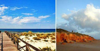 Playa Sancti-Petri en Chiclana de la Frontera
