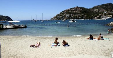 Playa Sant Elm en Andratx