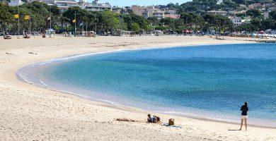 Playa Sant Feliu en Sant Feliu de Guíxols