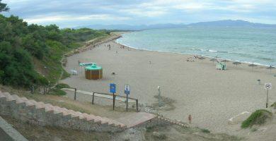Playa Sant Martí d'Empúries en L'Escala