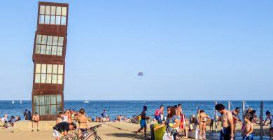 Playa Sant Miquel en Barcelona