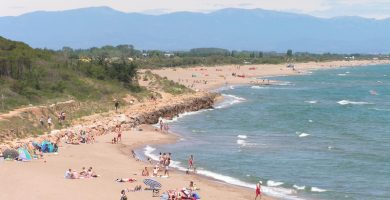 Playa Sant Pere Pescador en Sant Pere Pescador