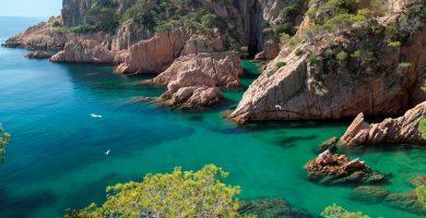 Playa Sant Pol en Sant Pol de Mar