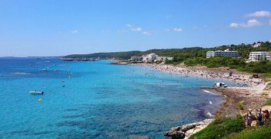 Playa Sant Tomas en Es Migjorn Gran