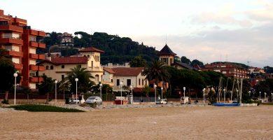 Playa Sant Vicenç de Montalt en Sant Vicenç de Montalt