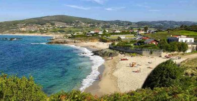 Playa Santa Irene en Arteixo