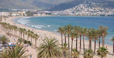 Playa Santa Margarida en Roses