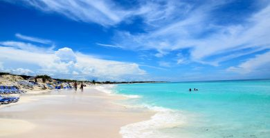 Playa Santa Mariña en Sanxenxo