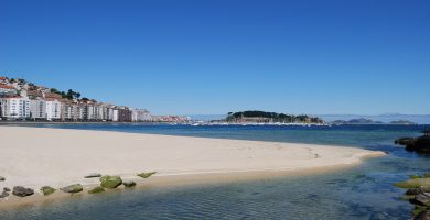 Playa Santa Marta en Cangas