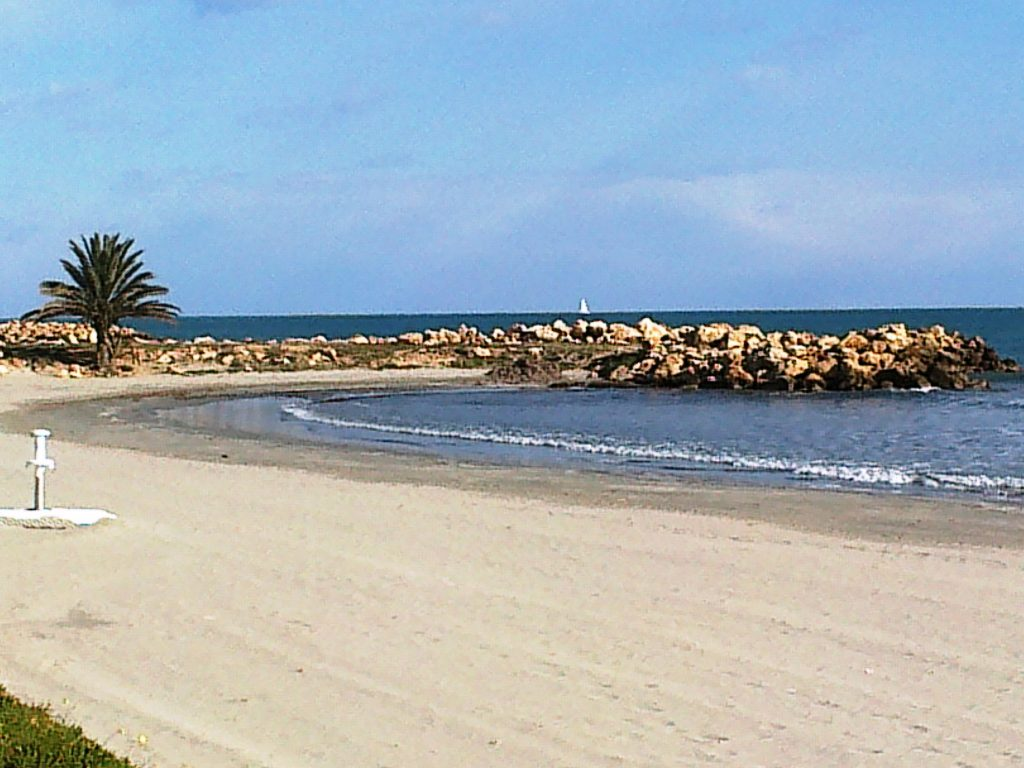 Playa Santa Pola del Este en Santa Pola