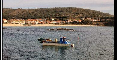 Playa Sardiñeiro en Fisterra