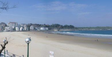Playa Sardinero II en Santander