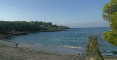 Playa S'Arenal de Portocolom en Felanitx