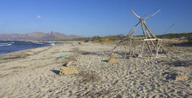 Playa S'Arenal d'En Casat en Santa Margalida