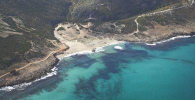 Playa S'Arenalet d'Aubarca en Artà