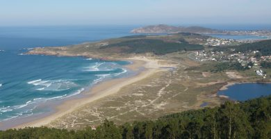 Playa Sartaña en Ferrol